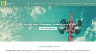 screenshot depersberichtenservice.nl