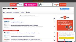 screenshot persberichten.com